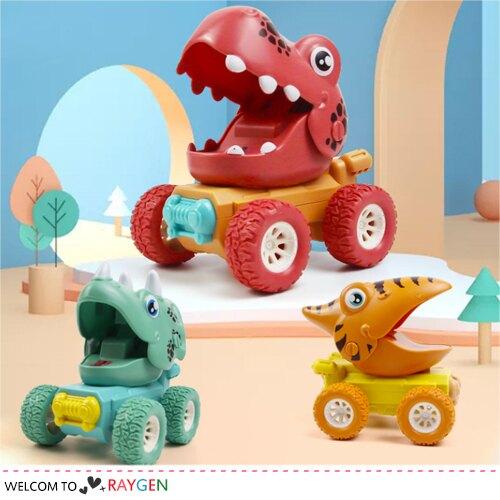恐龍樂園按壓慣性滑行車 兒童玩具