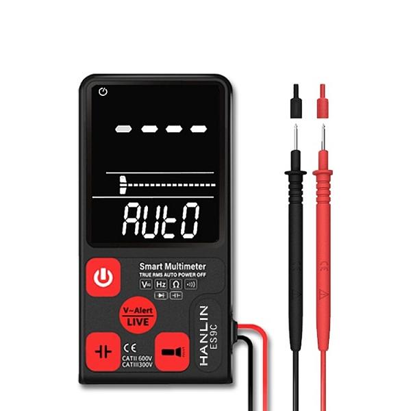萬用測電表 大螢幕數字萬用電錶 數位三用電錶 電壓表 檢測電阻電容 電工檢測智能三用電表
