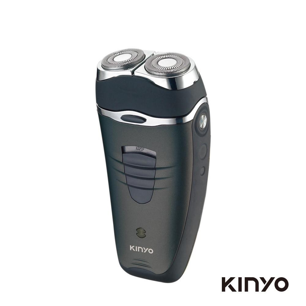 KINYO 雙刀頭充電式刮鬍刀 KS501 廠商直送