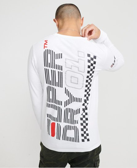 Superdry Desert Racer Long Sleeved Top