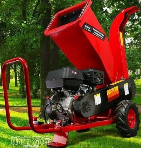 新年鉅惠85折~碎枝機 碎枝機粉碎機樹木樹枝果樹條樹葉柴油汽油碎枝機移動式碎木機電動-閃靚小鋪