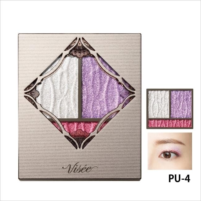 VISEE 幻光稜鏡眼影盒004 3g