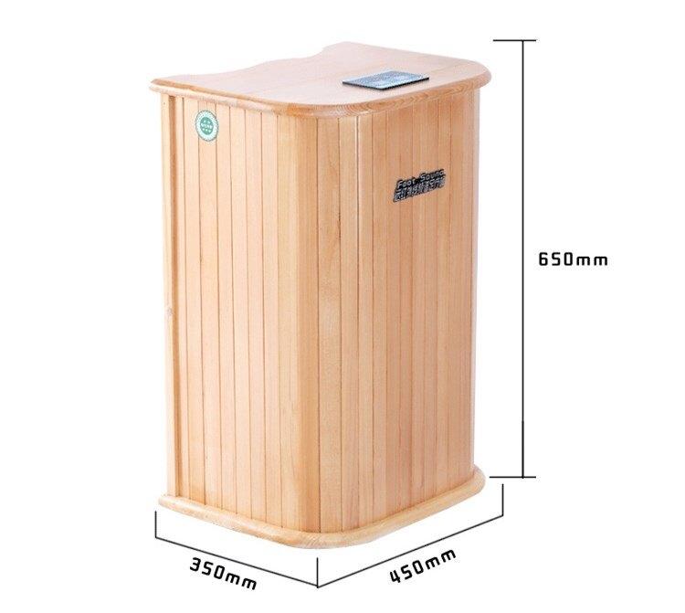 遠紅外線足浴桶頻譜加熱汗蒸熏蒸桶泡腳木桶全息能量養生桶HRYC 【快速出貨】