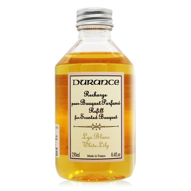 DURANCE朵昂思 白百合大地擴香補充瓶 Lys blanc(250ml)