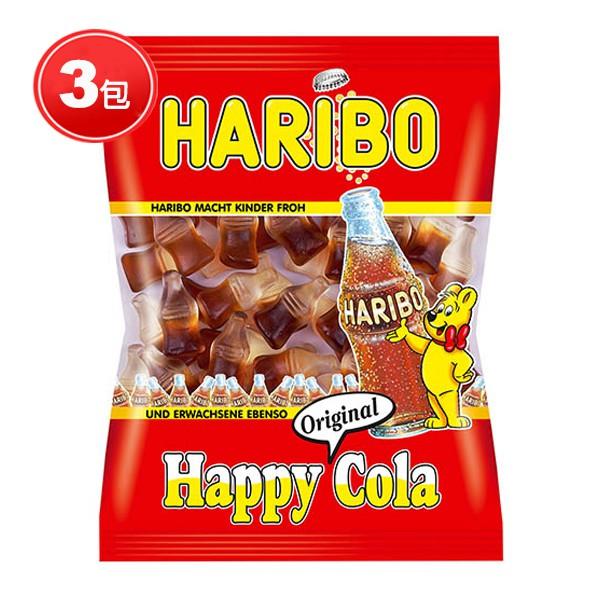 哈瑞寶 HARIBO 快樂可樂Q軟糖 (200g x 3包) │9481生活品牌館