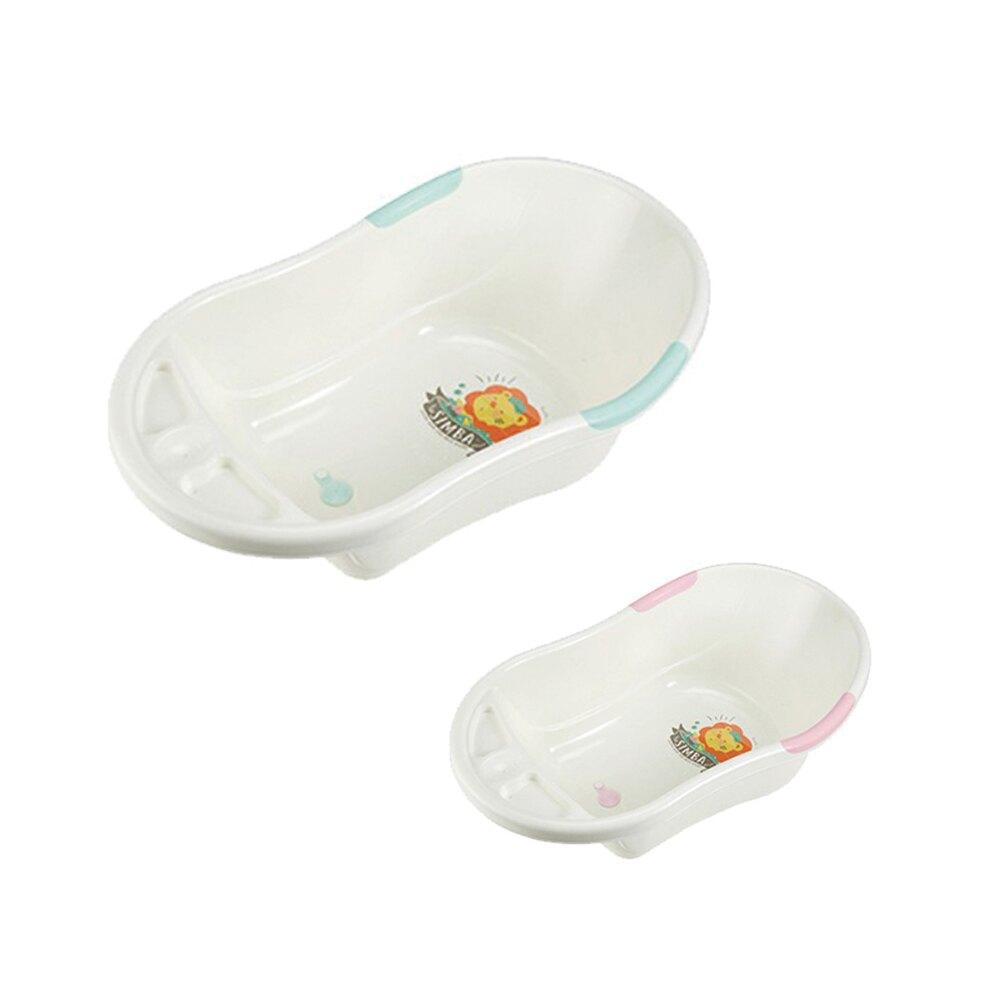 Simba 小獅王辛巴 防滑浴盆 (75*45*25cm) 可加購可調式浴網 母親節推薦