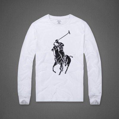 Melia 米莉亞代購 20SS  Ralph lauren POLO 長袖園領 秋冬新款 棉質布料 騎馬款 休閒 兩色