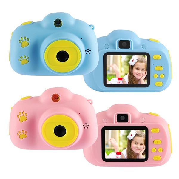 【24期零利率】全新 YT-09XW雙鏡頭兒童相機 1080P錄影/停課不停學/視訊/1200萬像素/照相/可愛邊框