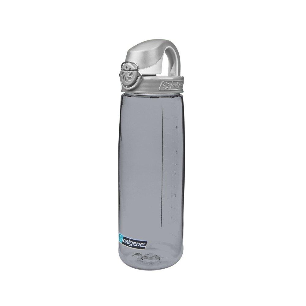美國《Nalgene》 750cc OTF運動水瓶 5565-8024 灰色灰蓋