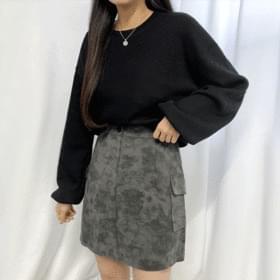 韓國空運 - Tie-dye cargo skirt 裙子
