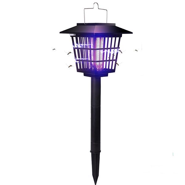 【3期零利率】全新 戶外太陽能滅蚊燈 照明/捕蚊 安全組合方便 免插電 簡單安裝 密合式柵欄