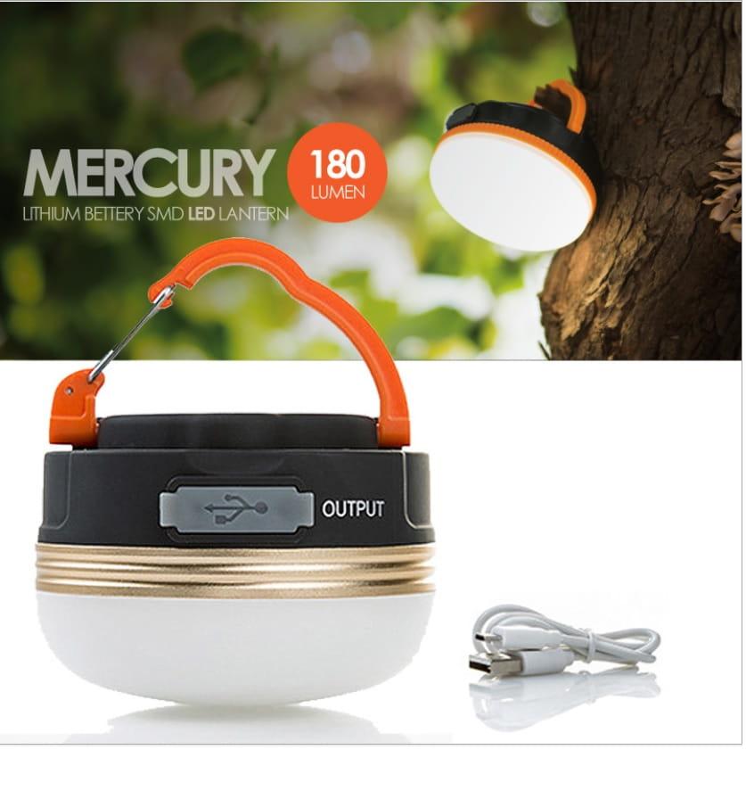 露營 登山 USB 充電 LED燈 露營燈 帳篷燈 野營燈 可當行動電源