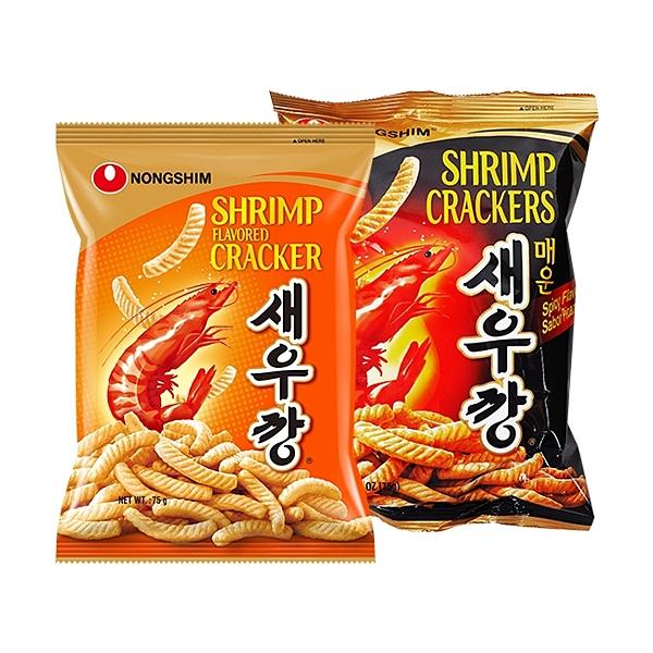韓國 農心 蝦味條(75g) 原味/辣味 款式可選【小三美日】