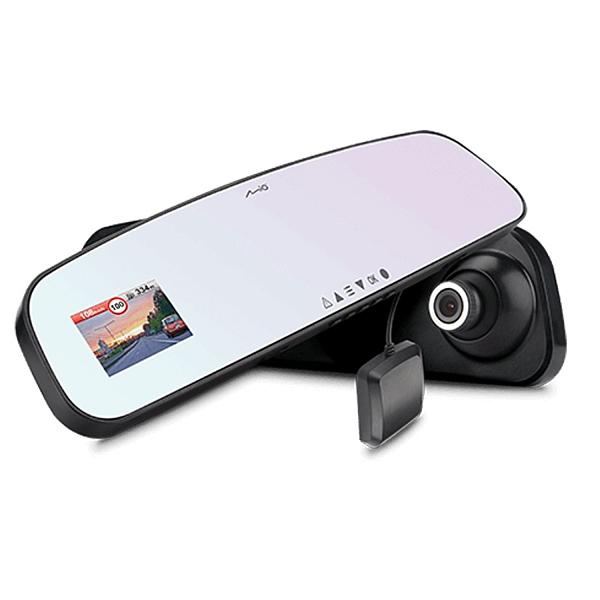【免運+3期零利率】贈大容量記憶卡全新 Mio MiVue R62 GPS 後視鏡行車記錄器 GPS固定測速照相提醒