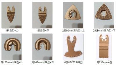 電動磨切機/魔切機鋸片(快拆通用款)硬質合金材質