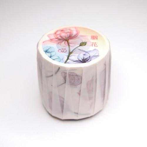 樂意 Loi 5cm膠帶 - 胭花 - 和紙或PET 可選擇