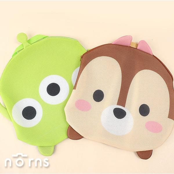 迪士尼Tsum Tsum造型洗衣網- Norns 正版 臉型洗衣袋 小熊維尼 史迪奇 三眼怪 米奇米妮 奇奇蒂蒂
