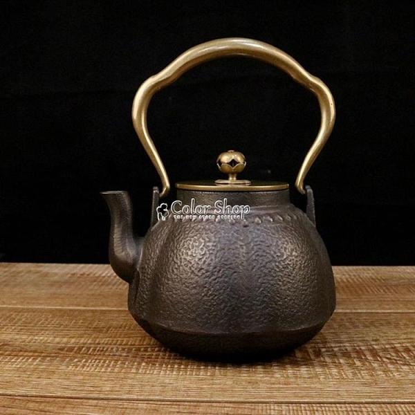 鐵壺廠家鑄鐵泡茶純手工套裝無塗層茶壺撿漏清倉整套茶具燒水特價 SUPER SALE 快速出貨