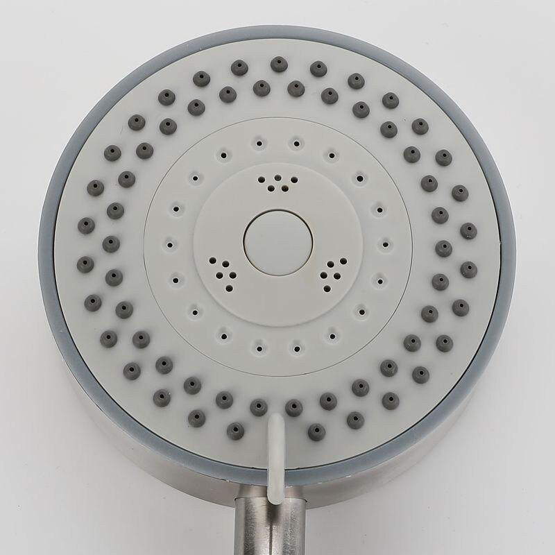 手提式增壓花灑淋浴噴頭可拆洗防摔五檔可調節花灑