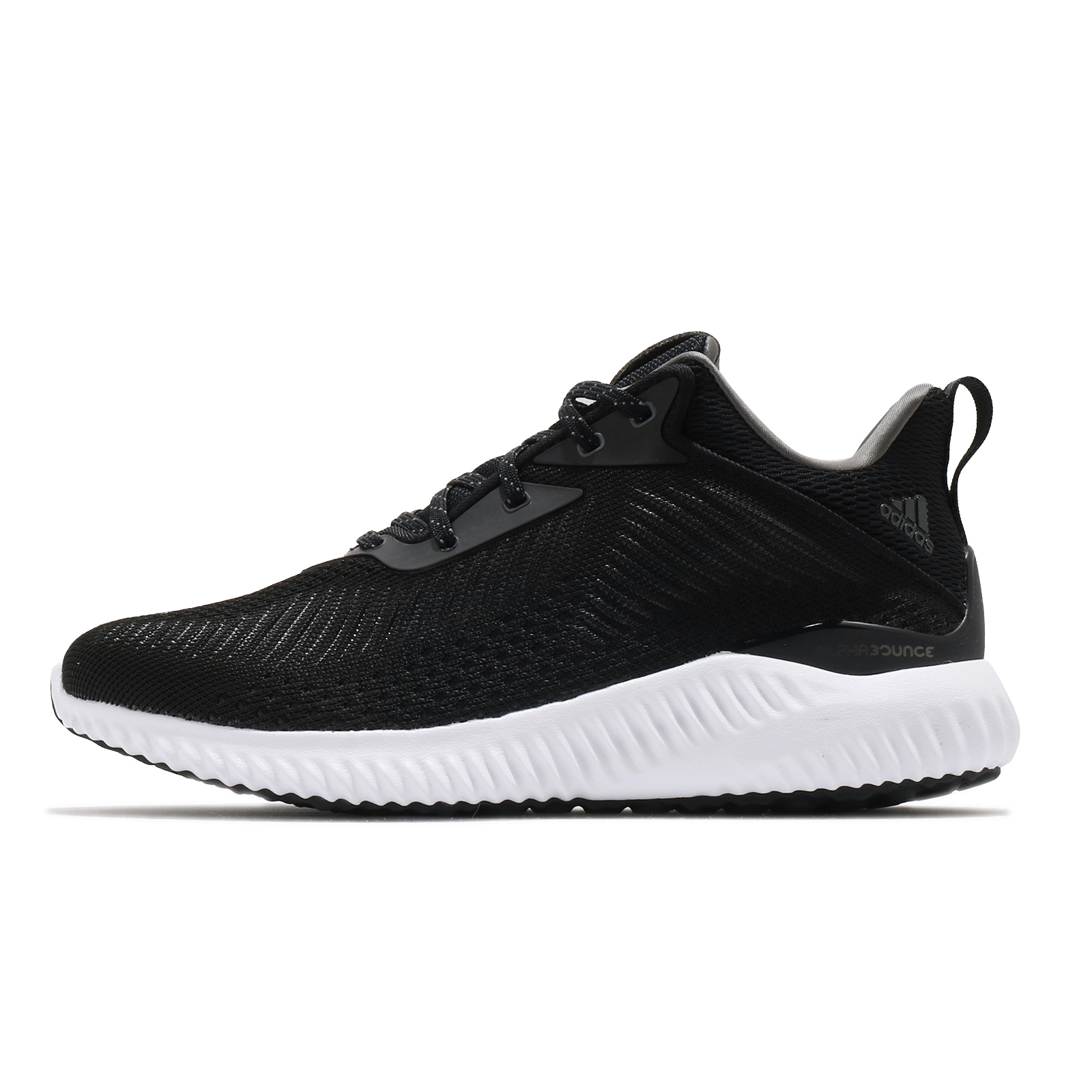 adidas 慢跑鞋 Alphabounce EK 黑 白 Bounce 男鞋 愛迪達 輕量回彈【ACS】 GW2268