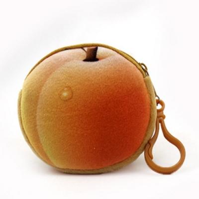 AmaZing 仿真水果造型青春收納零錢包(6色任選)
