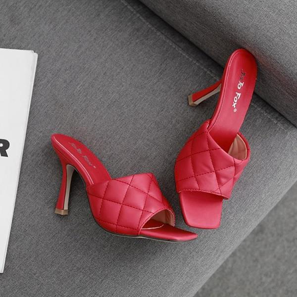 促銷九折 速賣通 High-heeled sandals Carousell high heeled sandals拖鞋