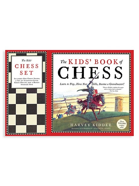 Book Of Chess & Chess Board Set