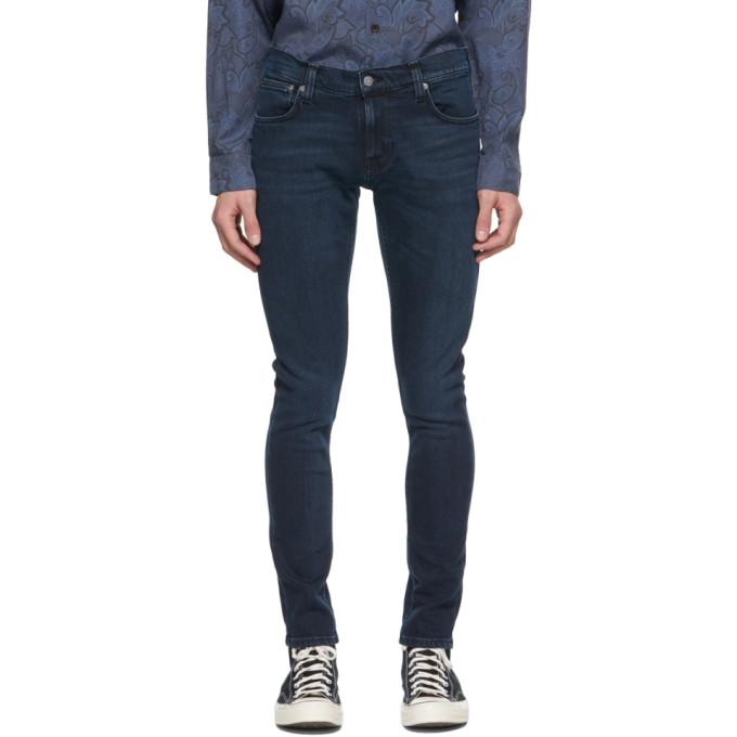 Nudie Jeans 蓝色 Tight Terry 牛仔裤