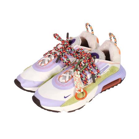 NIKE 女 W AIR MAX 2090 毛料氣墊避震慢跑鞋 粉紫彩 - DC2353153