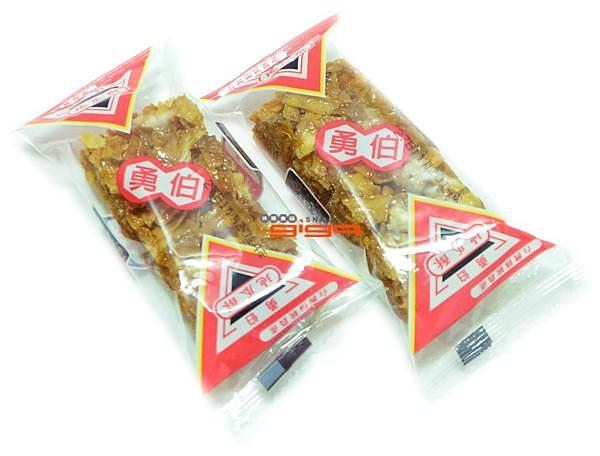 【吉嘉食品】勇伯地瓜酥(黑糖)素食 600公克 [#600]