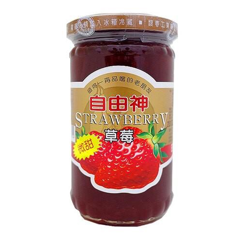 自由神特級草莓果醬400G【愛買】