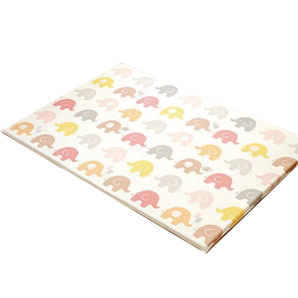 韓國Parklon帕龍 大象雙面包邊 頂級PVC無毒 泡泡遊戲地墊 210x140x4cm(外層PVC內層PU)