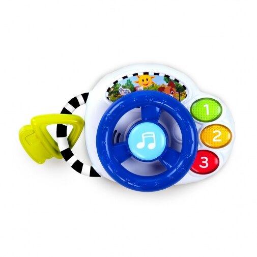 Kids II 轉轉方向盤聲光玩具【甜蜜家族】