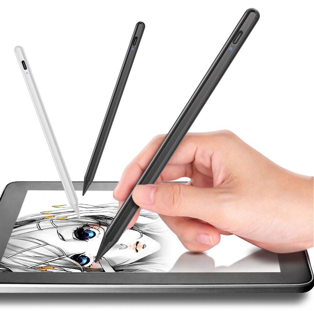 CITY for iPad 蘋果平板專用 生活小幫手主動式電容式觸控筆-附USB充電線孔