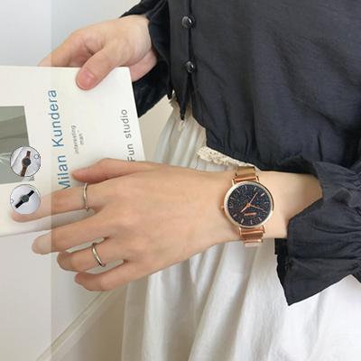 文青簡約星空盤錶【007211BHBG】