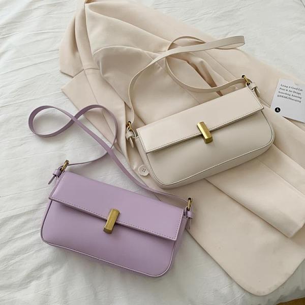限購特價 簡約法棍包包女新款小眾設計單肩腋下包休閑百搭手提包斜挎包