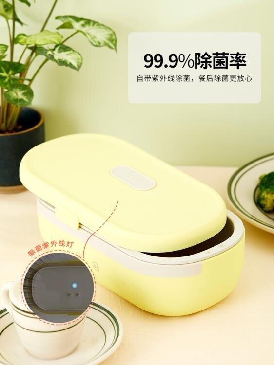 加熱便當盒 膳魔師電熱飯盒免注水上班族帶飯神器可保溫便攜插電自熱加熱飯盒 宜品