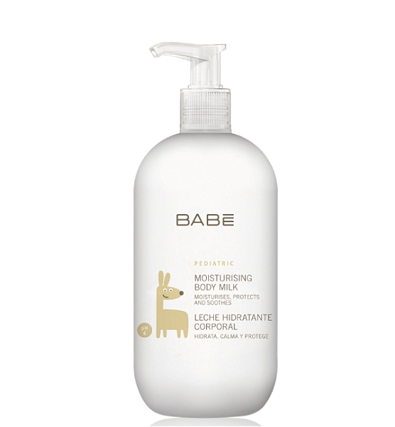 西班牙 BABE Laboratorios 保濕身體乳液/嬰兒乳液 500ml