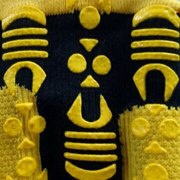 《EGXtech》8字繃帶 P82L 側向保護8字繃帶運動襪(黑/黃)