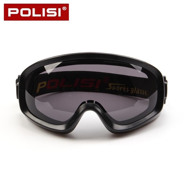 護目鏡POLISI專業防風沙護目鏡防霧防塵防飛濺透明防護眼鏡摩托車騎行男 新年新品全館免運