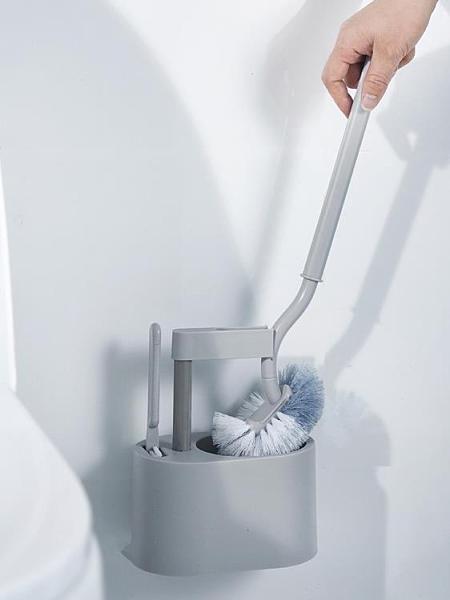 家用刷 清洗廁所馬桶刷子無死角家用套裝日式掛墻式潔廁衛生間洗便刷坐便 優拓