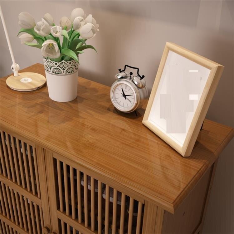 鞋櫃 簡易組裝門口小鞋櫃實木鞋架簡易家用防塵簡約現代門廳多功能   閒庭美家