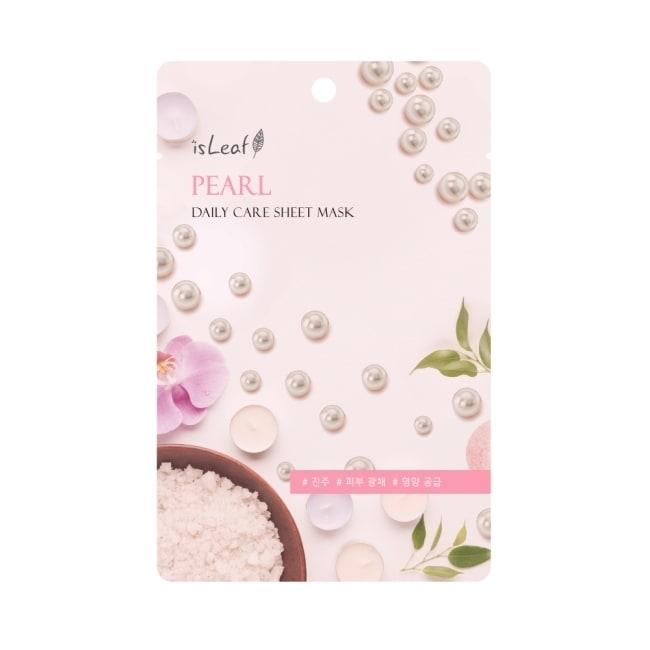 韓國isLeaf極緻水感保濕面膜22ml-珍珠
