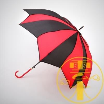 花瓣傘直立傘長柄傘太陽傘防紫外線晴雨傘自動遮陽傘