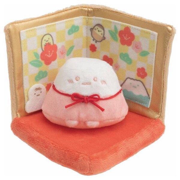 【角落生物 新年限定裝飾娃娃 】角落生物 新年限定 裝飾娃娃 粉色富士山 山脈 SS號 牛年 角落小夥伴 日本正版 該該貝比日本精品