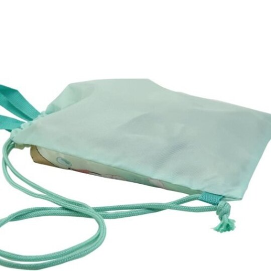 小禮堂 角落生物 尼龍束口後背袋 尼龍手提袋 後背包 束口袋 縮口袋 (綠黃 洗澡)