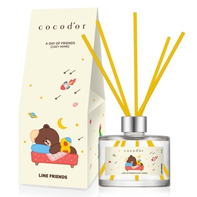 【cocodor】LINE FRIENDS 夢境漫遊 擴香瓶200ml 舒適小屋