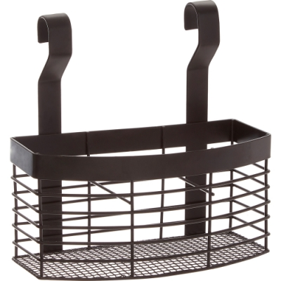 《Premier》3格掛式餐具收納架(黑)