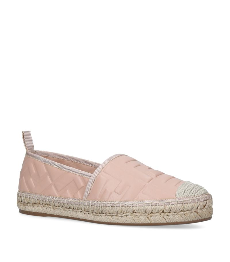 Fendi Leather Flatform Espadrilles 20