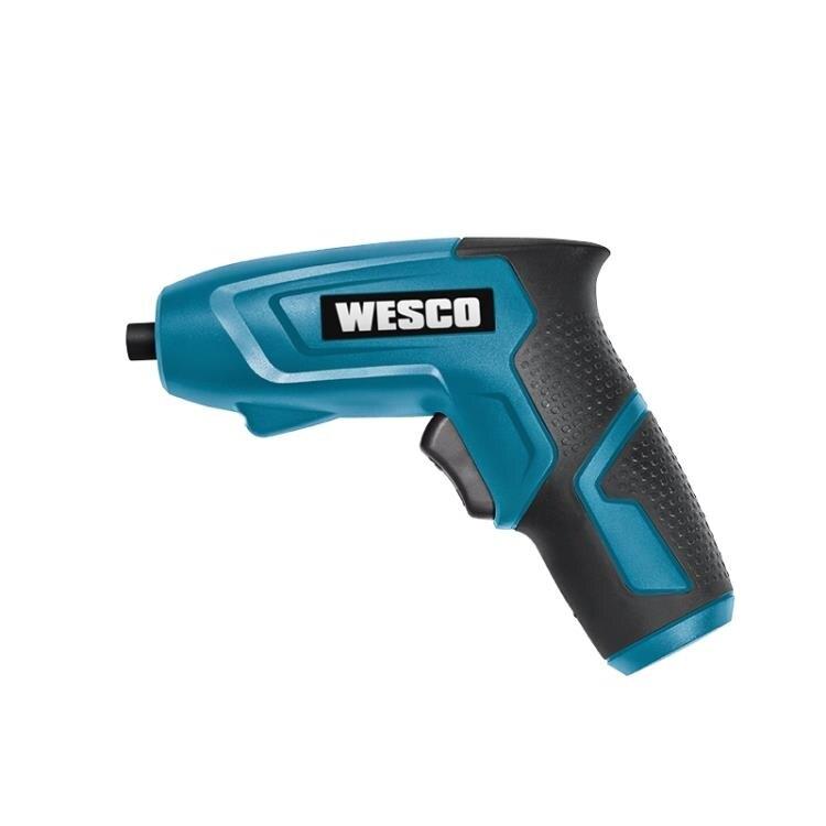 WESCO電動螺絲刀充電式家用電動起子小型迷你電動螺絲擰緊機電批 時尚學院